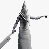 3ds max pyramid head 2