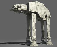 maya star wars at-at imperial walker