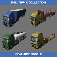 max fh12 trucks semi