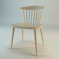 3d jay j104 chair model