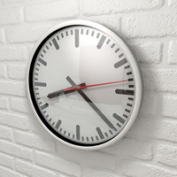 cinema4d wall clock