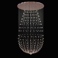 light custom chandelier glass max