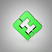e-sport flipsid3 logo 3d model