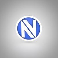 3d obj e-sport envyus logo
