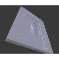 3d model door
