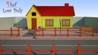 free max mode cartoon house