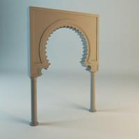 3dsmax islamic arch