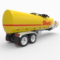 3d fbx shell tanker