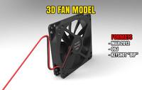 pc fan 3d model