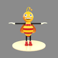 3ds max bee