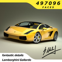 lamborghini gallardo superleggra 2008 3d 3ds