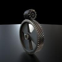 3dsmax gears