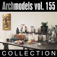 3d model archmodels vol 155