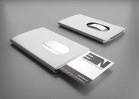 3d model of card holder troika