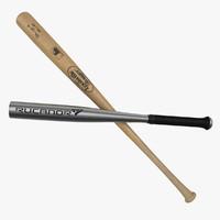 3d baseball bats
