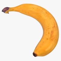 3d model banana 3