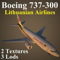 3d boeing lil