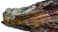 lava cliff 16k 3d obj