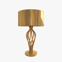max versace vanitas swirl table lamp