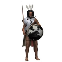3d clothing weapons shields model