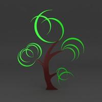3d model lego tree