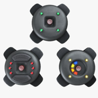 3d explosive mines model