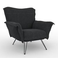 cloudscape armchair 3d max