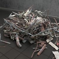 3d dump iron model