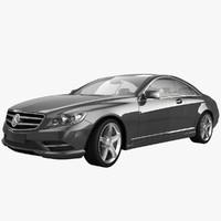 2011 mercedes benz cl 3d model