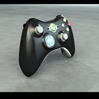 3d model xbox 360 controller