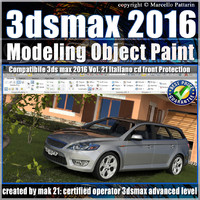 3ds max 2016 Object Paint vol 21 Cd Front