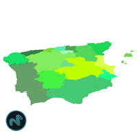 spain mapping 3d dxf