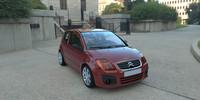 citroen c2 car 3d model
