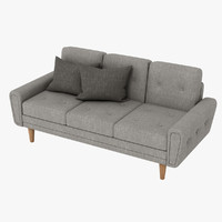 max harvey sofa blue classic