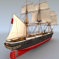 Sail & Steam Frigate ERTUGRUL