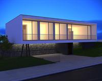 3d model house sobral