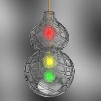 3d max gourd lantern