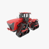 3d scraper tractor