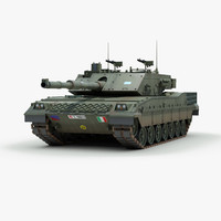 italian c1 ariete tank 3d 3ds