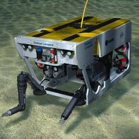 3ds max seaeye leopard rov submarine