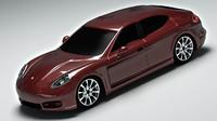 3d model 2014 porsche 4s