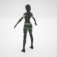 woman sexy 3d max