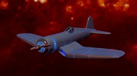 3d model plane movie stills