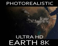 ultra hd realistic earth 3d max