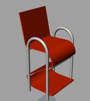 plastic chair 3dm