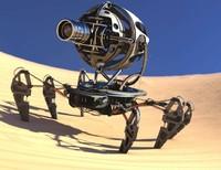 3d robot spider model
