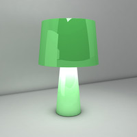 3d model of lamp light