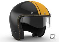 Black R Helmet H08