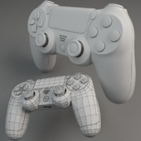 3d model base dualshock mesh