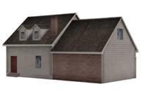 3d houses 4 model